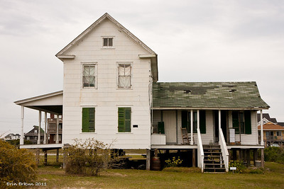 The 1907 Midgett House is intended to interpret daily life on Hatteras Island in the early 1900s.