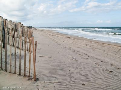 Hatteras Beach fronting Camp Hatteras.