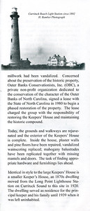 Currituck Beach Lighthouse - Corolla (brochure scan)