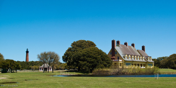 Currituck Beach Lighthouse and the Whalehead Club - Corolla