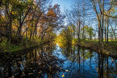 Benton Spillway Fall Walk