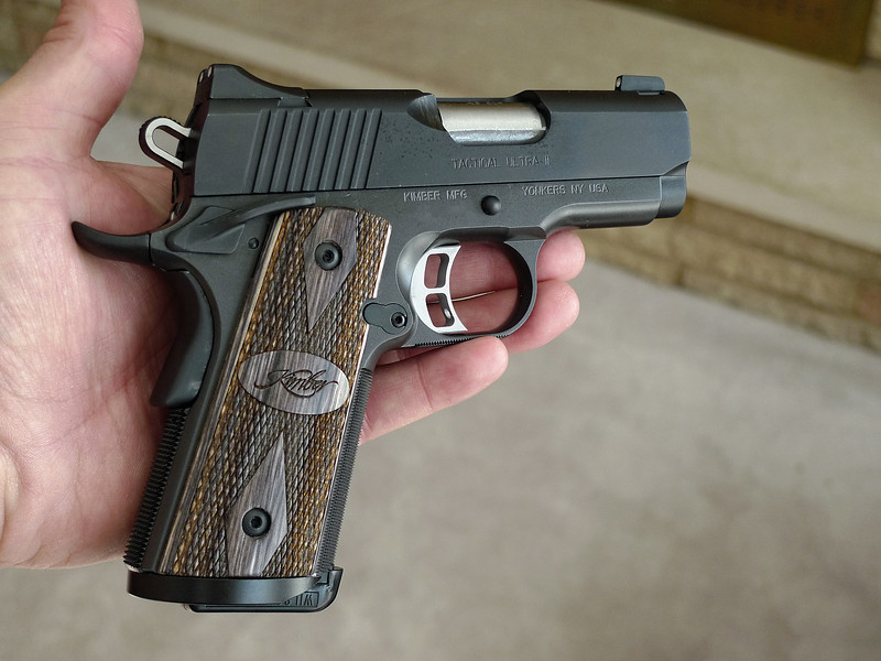 My new Kimber Tactical Ultra II