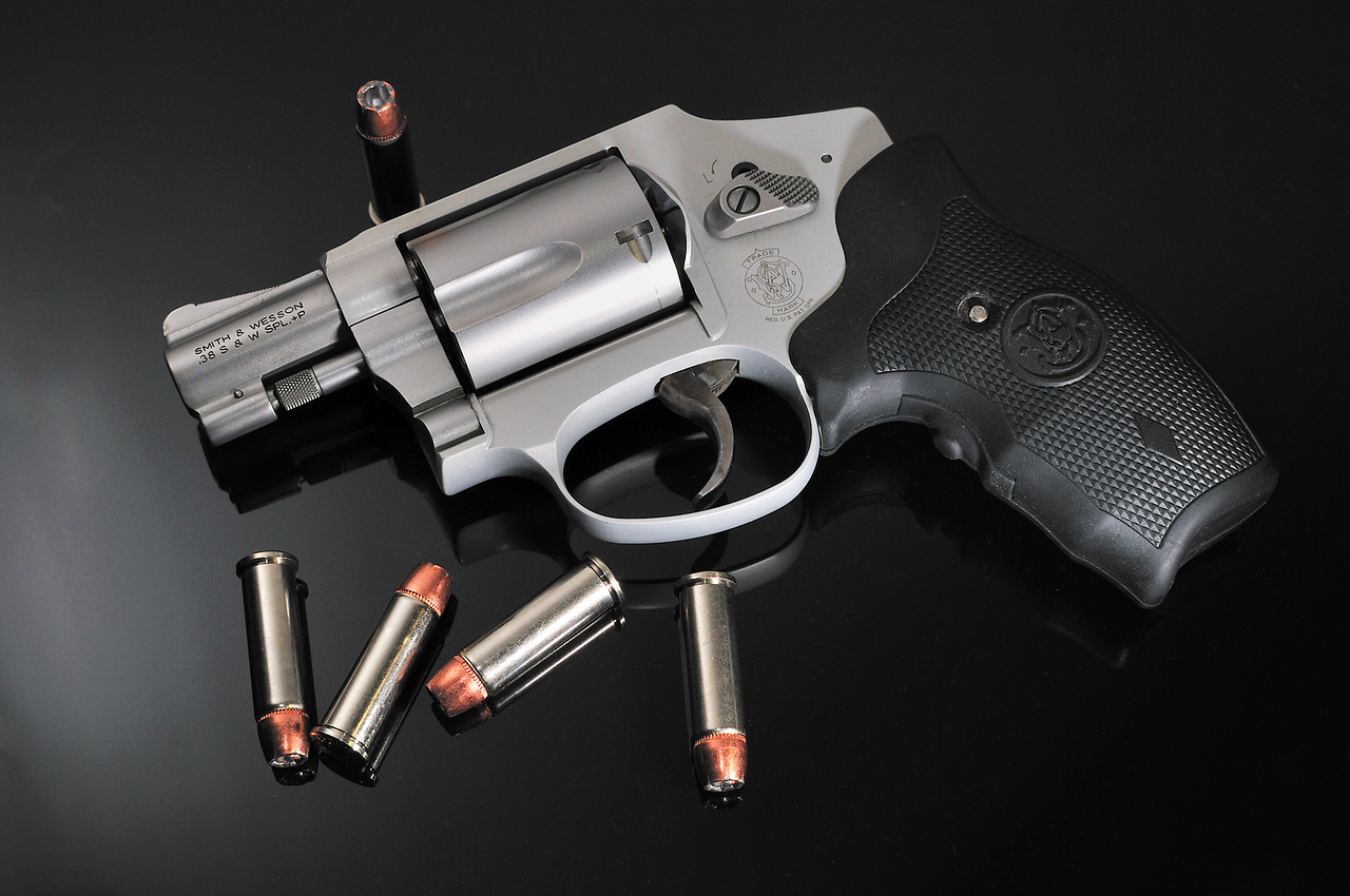 My new Smith & Wesson 642.  What a great revolver!