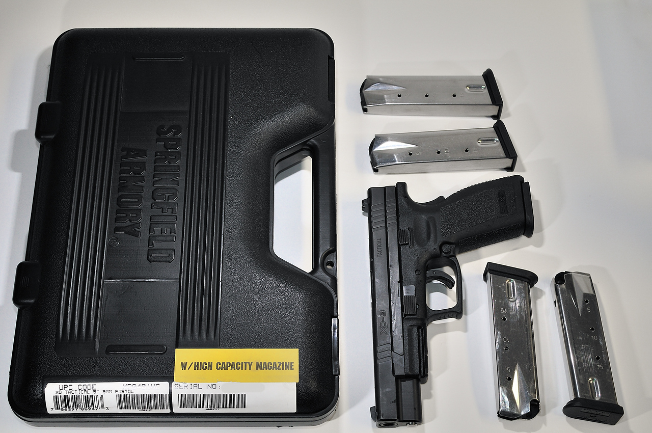 Springfield XD Tactical 9MM