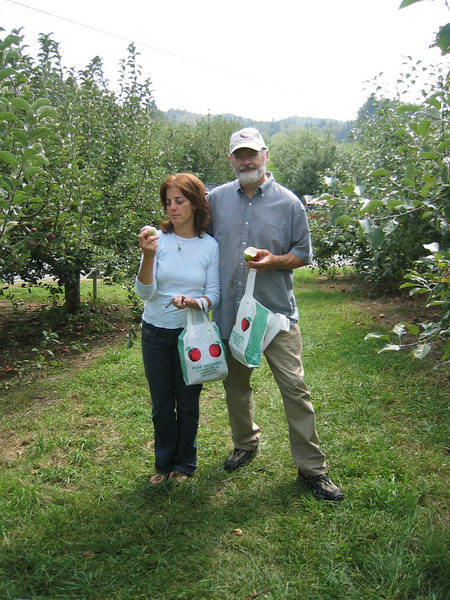 Caren & Mark Peak Orchards Henniker NH