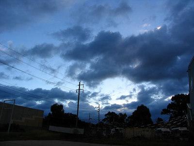 Clouds at Windsor Feb 2006