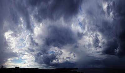 Mona Vale Beach Storm Panorama
