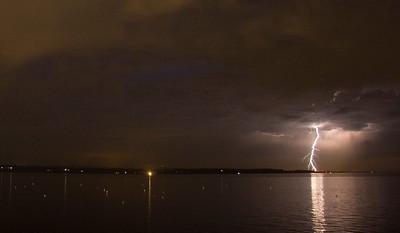 July 11th, 2009 - Edmonds waterfront lightning