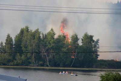 July 29th, 2009 - Ballinger lake fire