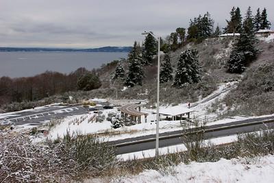 Shoreline Little Snow Feb 9th, 2014.