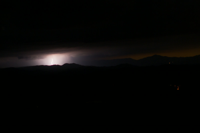 Mogollon Rim lightning