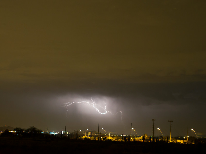 Photographed in Mesa on 17 August 2014.   Canon 7D camera, Sigma 50mm f/1.4 lens, aperture f/1.4 and 1/3 second with a Nero Lightning Trigger.
