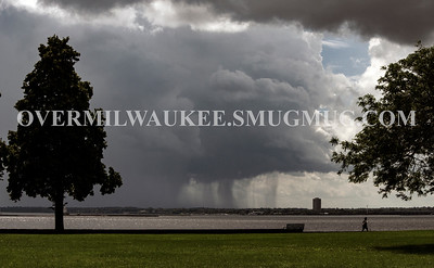 DOWNPOUR SEEN FROM MILWAUKEE AUGUST 2018