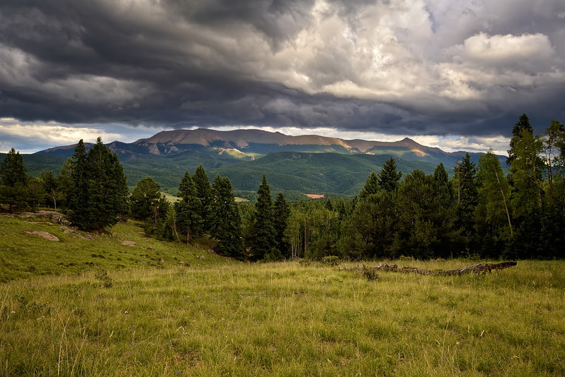 Pike's Peak Monsoonal Flow