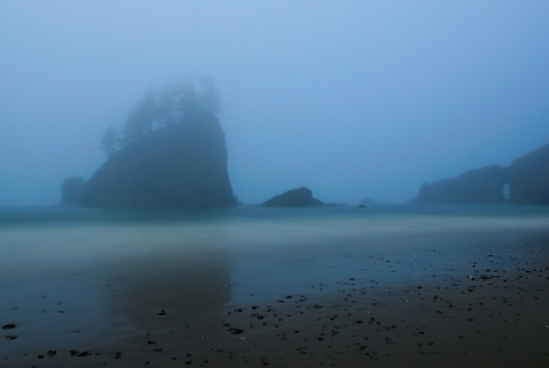 Second Beach in Full Pacific Northwest Regalia