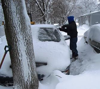 2009 Christmas Snow Storm