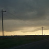 Coming into Spearman from the west on HWY 759, looking west-south-west at this lowering.