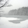 2010-02-10 SpeedwellLake in Snow Black and White.jpg