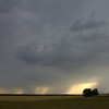 5:24 pm   3 mi NW of Mutual, OK<br /> <br /> Storm starting to mature with a developing mesocyclone.