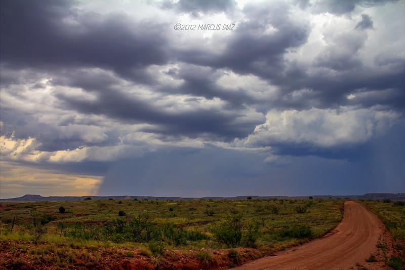 Storms in rural eastern NM | August 20, 2012