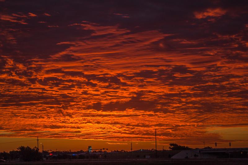Early morning sunrise in Amarillo, TX | September 8, 2012