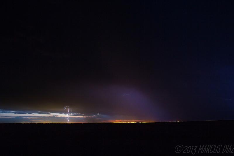 June 8, 2013 | Lightning show near Amarillo.