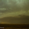 Southeast of Farwell looking back at the mothership of a mesocyclone. The lightning barrage was insane at this point.