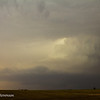 ...and race north towards Kinsley, KS to intercept this supercell.