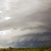 Meaty looking wall cloud and storm.