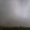 This is where we got the best view of the tornado. The outer edges became very apparent.