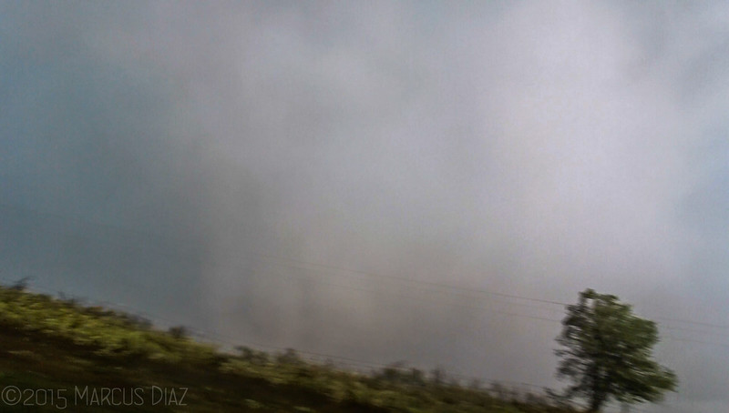 We were getting blasted with strong RFD from the SW. Hard to keep the camera steady.