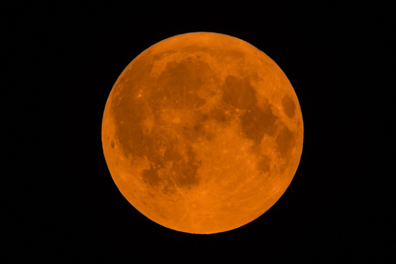 Smoke from the Norse Peak and Jolly Mountain fires brought ash clouds to our part of Western Washington, and an even darker orange cast to the moon than we saw last month.