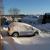 My car before Brushing Off!