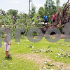 Henderson ISD cancelled classes Tuesday and Wednesday due to Monday night storm with high winds that damaged as estimated   100 homes and left 20,000 people without power.<br /> <br /> (photo by Sarah A. Miller/Tyler Morning Telegraph)