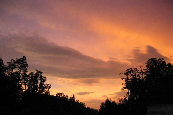 After the Storm: Leesburg, VA, August 27, 2003