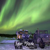 1179  G Aurora Over Snowtracks