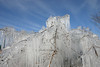 Fortress Of Solitude<br /> Like Superman's home away from home, this icy structure against the blue sky stands forever. Or, in this case, until roughly the next afternoon, when it was almost completely melted