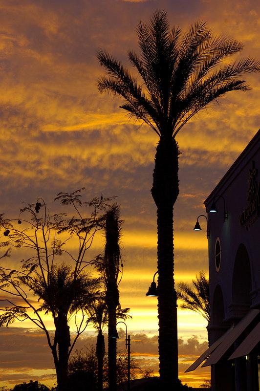 Just another Arizona sunset.. Mesa, AZ