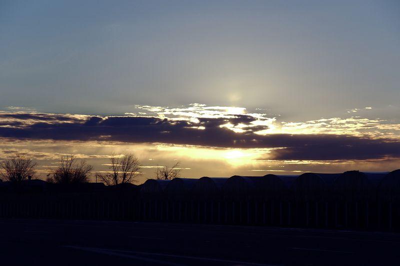 Sunrise Over The Farm - Gilbert