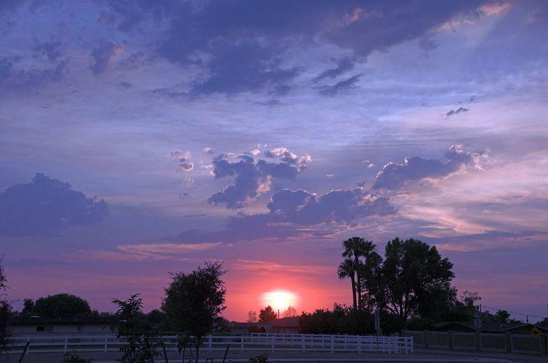 Sunset in Gilbert