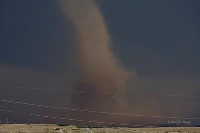 Phenomenal massive dust vortex.