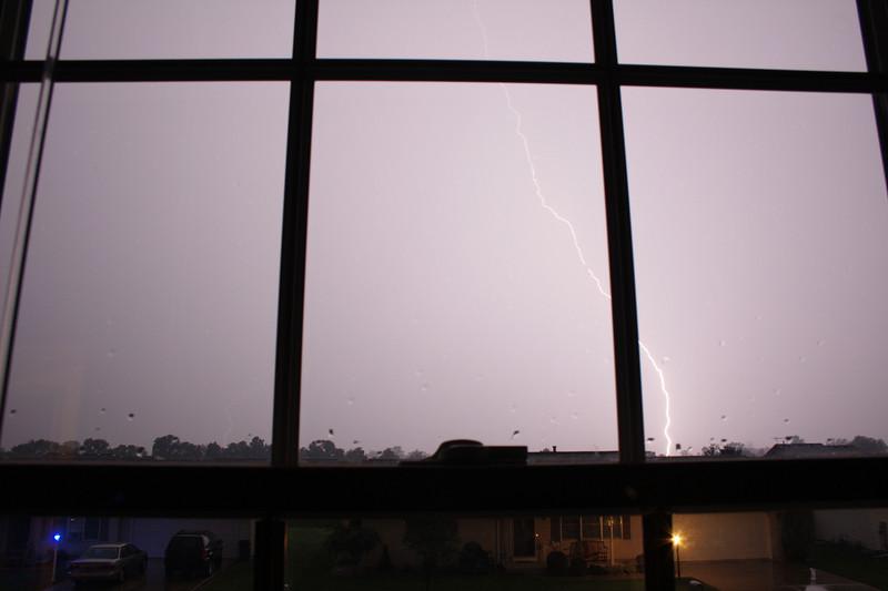 Lightning storm - Wednesday 8/15/2007 - Colonial Manor in Goshen