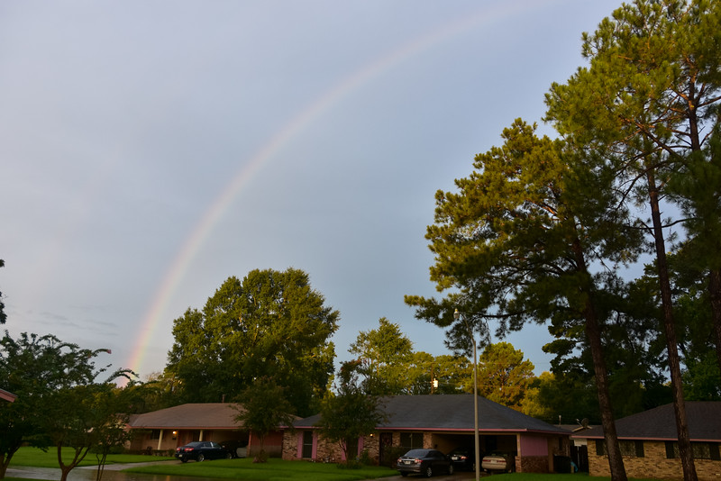 Rainbow on Sunday Morning. 8/14/2016