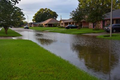 Street Flooding on Garnet. Sunday morning 8/14/2016.