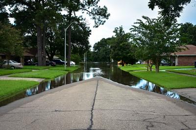 Street flooding on Garnet. Mid day 8/14/2016