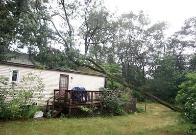 Billerica trees down thunderstorm 080415