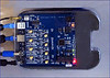 Blitzortung System Blue Controller Board (initial Release without filter ICs)r