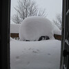 That's my grill under that mound of snow!