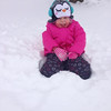 Tiffany McClennen Kassidy submitted this photo via Facebook of her 3-year-old daughter enjoying the snow!