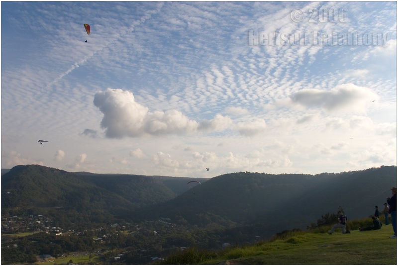 Cloud formation at Stanwell Tops